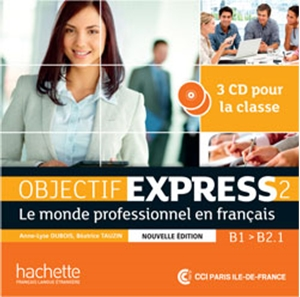 Picture of Objectif Express 2 Nouvelle Ed. płyty CD Int (x3)